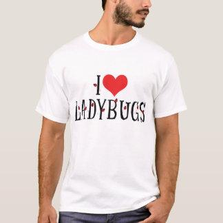 I Love Heart Ladybugs - Ladybug Lovers T-Shirt