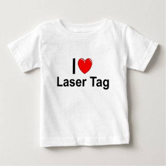 I Love Heart Laser Tag Baby T-Shirt