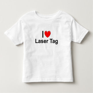 I Love Heart Laser Tag Toddler T-shirt