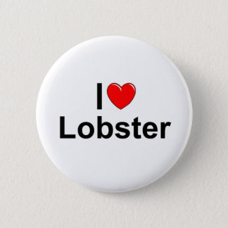 I Love (Heart) Lobster Pinback Button