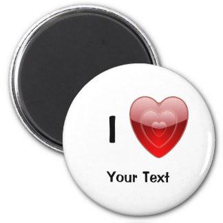 I Love Heart Magnet