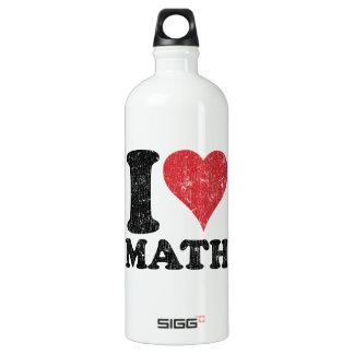 I Love (Heart) Math SIGG Traveler 1.0L Water Bottle