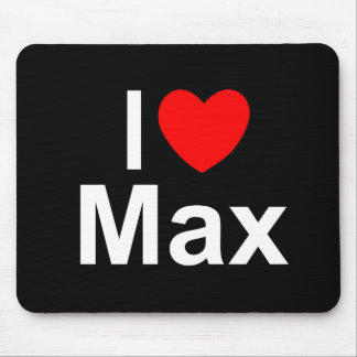 I Love (Heart) Max Mouse Pad