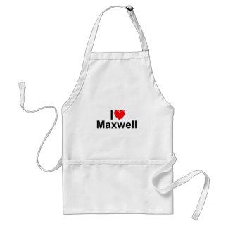 I Love Heart Maxwell Apron