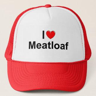 I Love (Heart) Meatloaf Trucker Hat