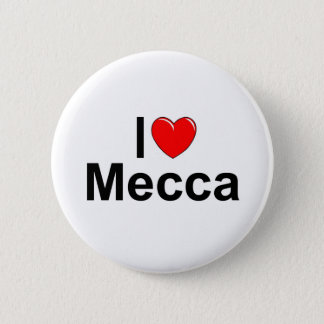 I Love (Heart) Mecca Button