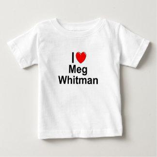 I Love (Heart) Meg Whitman Baby T-Shirt