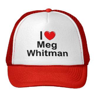 I Love (Heart) Meg Whitman Trucker Hat