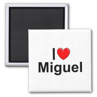I Love (Heart) Miguel Magnet
