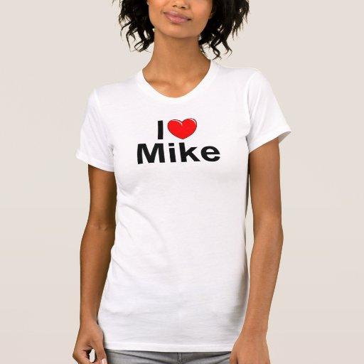 I Love (Heart) Mike Tank Top