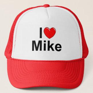 I Love (Heart) Mike Trucker Hat