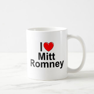 I Love (Heart) Mitt Romney Classic White Coffee Mug