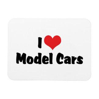 I Love Heart Model Cars - Model Car Builder Magnet