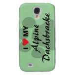 I Love (Heart) My Alpine Dachsbracke Galaxy S4 Case