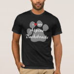 I Love (Heart) My Alpine Dachsbracke T-Shirt