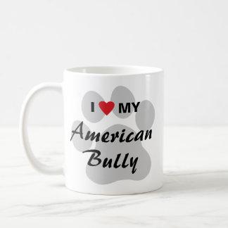 I Love (Heart) My American Bully Coffee Mug