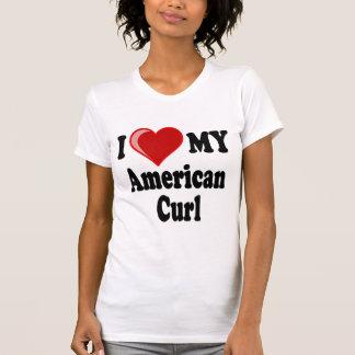 I Love (Heart) My American Curl Cat T-Shirt