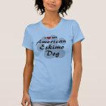 I Love (Heart) My American Eskimo Dog T-Shirt