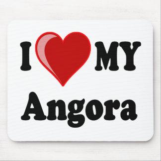 I Love (Heart) My Angora Cat Mouse Pad