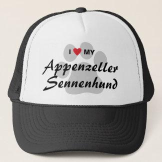 I Love (Heart) My Appenzeller Sennenhund Trucker Hat