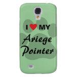 I Love (Heart) My Ariege Pointer Galaxy S4 Case