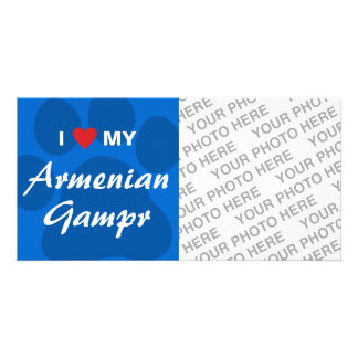 I Love (Heart) My Armenian Gampr Card