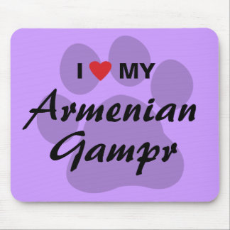 I Love (Heart) My Armenian Gampr Mouse Pad