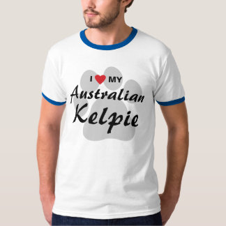 I Love (Heart) My Australian Kelpie T-Shirt