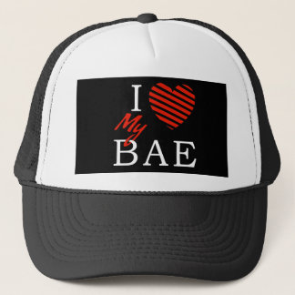 I Love (Heart) My Bae - Trucker Hat