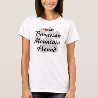 I Love (Heart) My Bavarian Mountain Hound T-Shirt