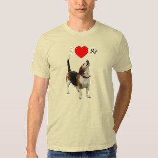 I Love Heart My Beagle Dog T-Shirt