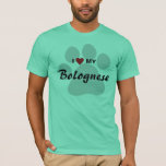 I Love (Heart) My Bolognese Dog Lovers Shirt