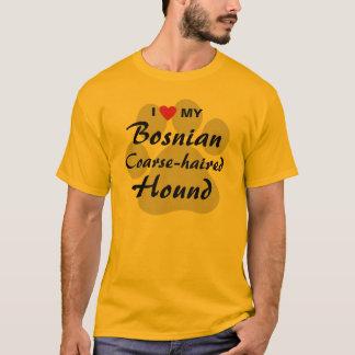 I Love (Heart) My Bosnian Coarse-haired Hound T-Shirt