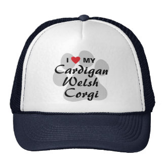 I Love (Heart) My Cardigan Welsh Corgi Trucker Hat