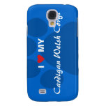 I Love (Heart) My Cardigan Welsh Corgi Samsung Galaxy S4 Cover