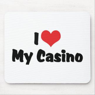 I Love Heart My Casino - Las Vegas Gambling Mouse Pad
