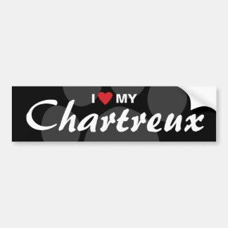 I Love (Heart) My Chartreux Car Bumper Sticker