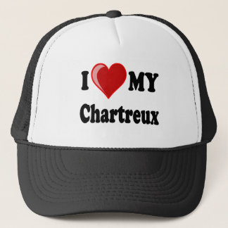 I Love (Heart) My Chartreux Cat Trucker Hat