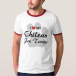 I Love (Heart) My Chilean Fox Terrier T-Shirt