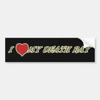 I Love Heart My Death Ray Mug Bumper Stickers