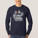I Love (Heart) My German Pinscher T-Shirt
