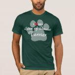 I Love (Heart) My Glen of Imaal Terrier Pawprint T-Shirt