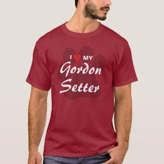 I Love (Heart) My Gordon Setter Dog Lovers Shirt