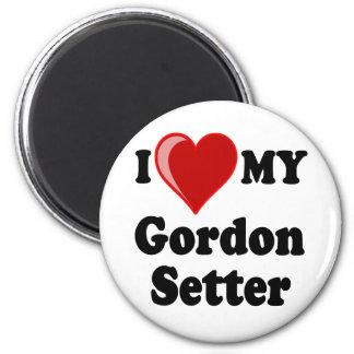 I Love (Heart) My Gordon Setter Dog Magnet