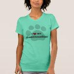 I Love (Heart) My Hamiltonstövare Dog Lovers Shirt