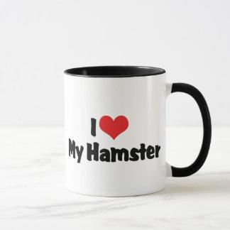 I Love Heart My Hamster Mug