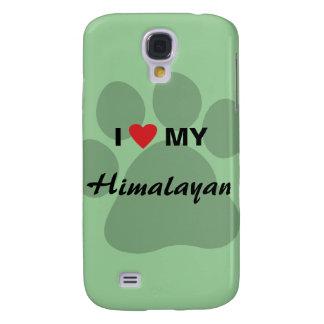 I Love (Heart) My Himalayan Pawprint Samsung Galaxy S4 Case