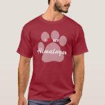 I Love (Heart) My Himalayan Pawprint T-Shirt