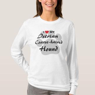 I Love (Heart) My Istrian Coarse-haired Hound T-Shirt