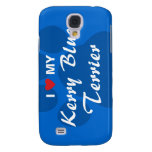 I Love (Heart) My Kerry Blue Terrier Samsung Galaxy S4 Cover